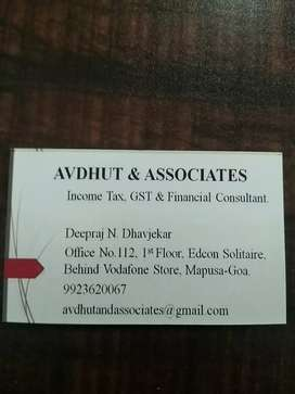 Urgently required - Accounts person male only