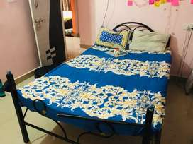Double bed Cot with mattress