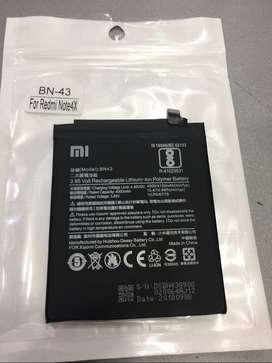 Baterai Redmi Note 4x BN43 BN-43 snapdragon