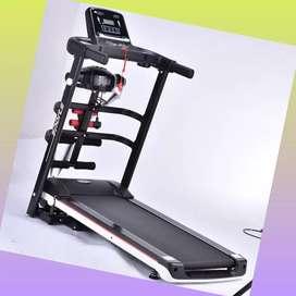 treadmill elektrik EXONE-1001 alat fitnes electric