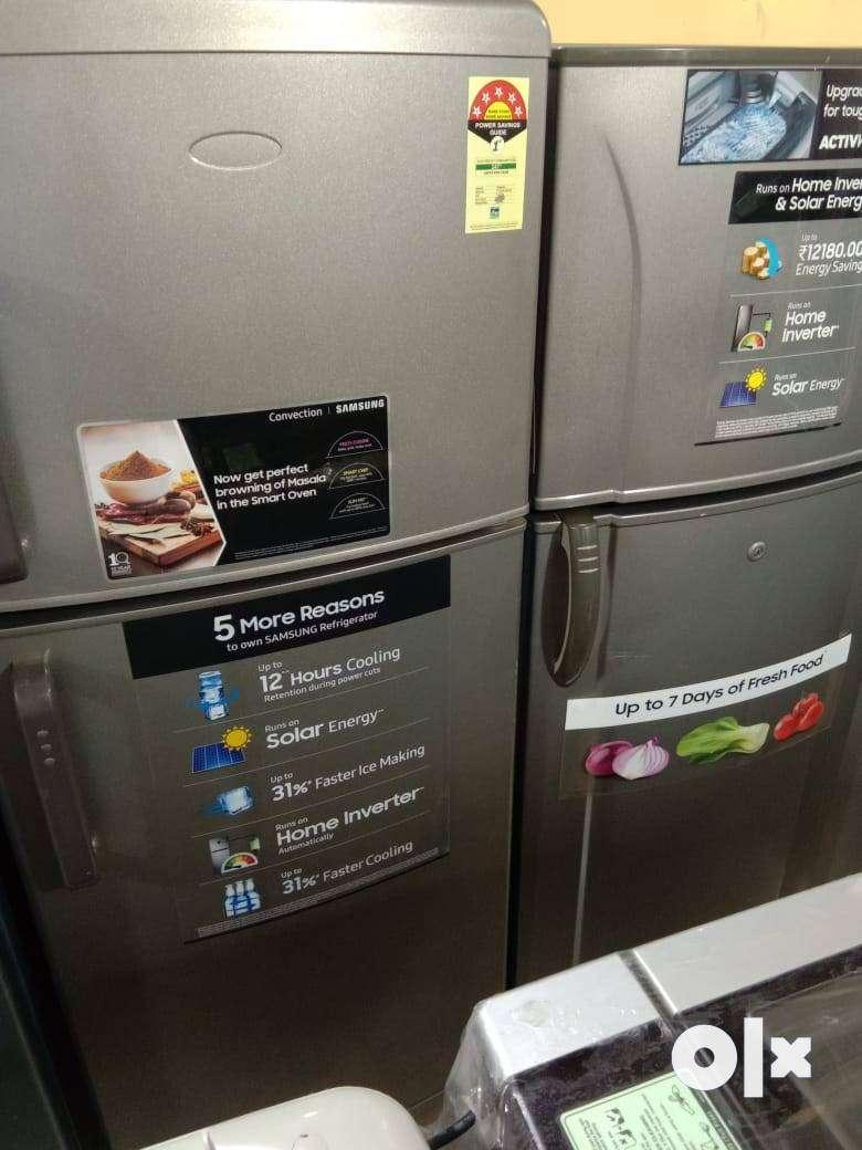 Whirlpool double door fridge @8500/- with warranty 0