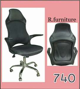 R_740 Imported headrest chair _ Office table sofa r available also