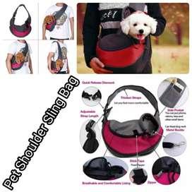 Tas Sling bag untuk kucing dan anjing