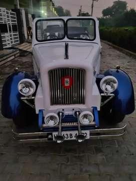 Custumized vintage car