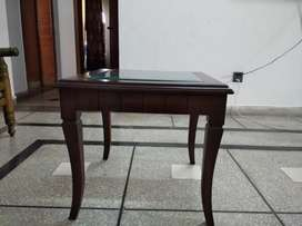 Tables Set with Etching Mirror