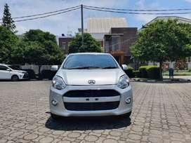 TDP 19.9JT KM 30RIBU Daihatsu Ayla X 2016 MT Silver Istimewa 1 Tangan