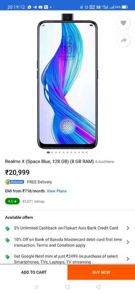 Realme x everything available