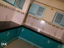 Semi furnished flat 3bhk on rent in gated society at AB Road
