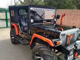 New modified Hunter Willy jeep