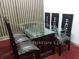 Dining Table 4 Chairs 16k, 6 Chairs 26k, 8 Chairs 32k Special Discount