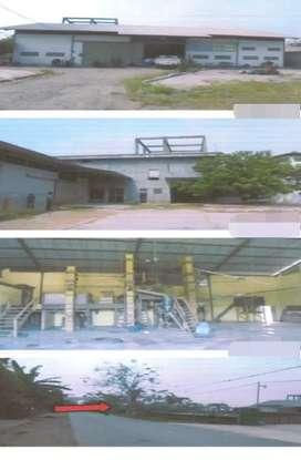Ex Pabrik Penggilingan Beras di Bekasi