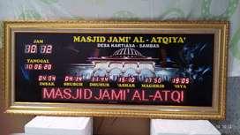 Agen jam sholat masjid