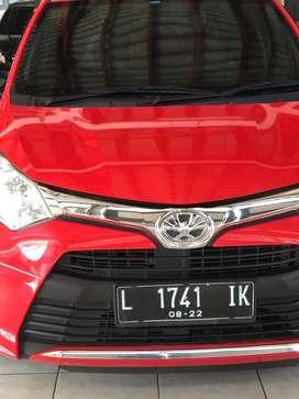 Toyota calya 1.2 type G matic,,th 2017 dp 15 jt