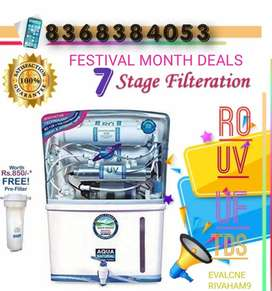 Festival Month Deals on RO UV UF Technology Aqua Water Purifiers.