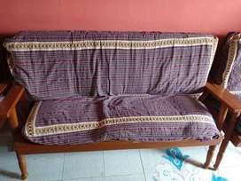 Take wood sofa