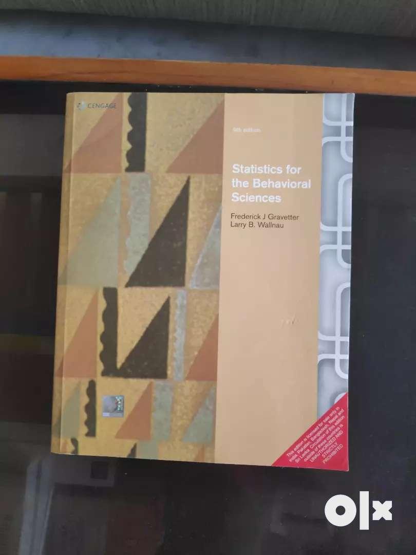 Statistics for the Behavioural Sciences by Frederick J. Gravetter 0