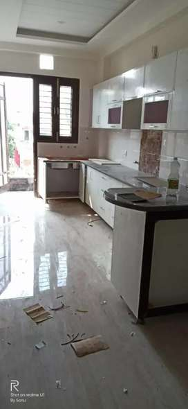 3bhk flat separate floor 58 Lac only