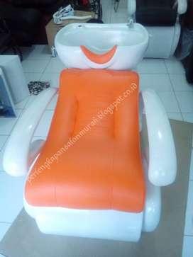 kursi keramas salon jok orange atau bangku untuk keramas