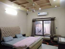 6 BEDROOMS LUXURY FURNISHED KANAL HOUSE FOR RENT IN BAHRIA PHASE 4