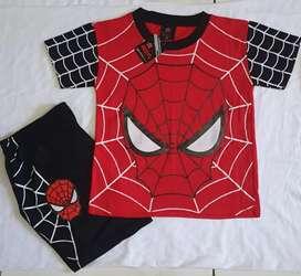 Spiderman jaring merah kom hitam