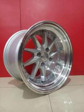 Stock Ready Velg tiakur Ring15x8/9 Bisa buat Avanza Xenia Brio clya