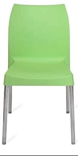 Chairs Nilkamal Nivola-07 model (parrot green and white)