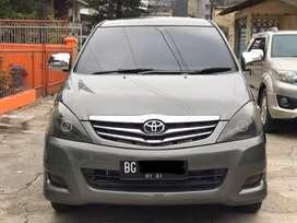 Innova G bensin manual 2010 plat BG tangan pertama istimewa