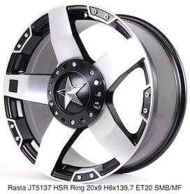 order velg RASTA JT5137 HSR R20X9 H6X139,7 ET20 SMBMF