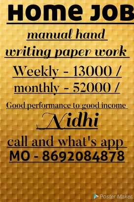 Small novel book writing job weekly salary 13000
