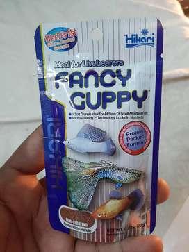 Hikari Fancy guppy food