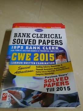 Bank Clerical solved papers ( IBPS bank clerk)