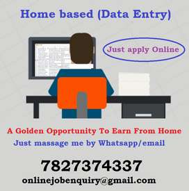 Dev Data entry opened a grand opportunity for fresher. Job available f
