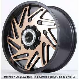 MALINAU WL150FX03 HSR R20X9 H6X139,7 ET18 BK/BRONZE