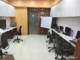 Fully furnished Office Space for rent near vashi station