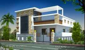 VUDA Approved Indenpendent houses At Duvvada