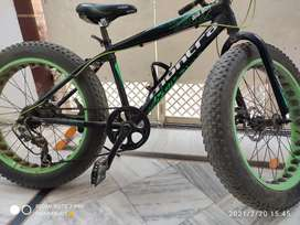 Montra fat tyre cycle