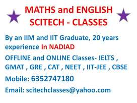 MATHS and ENGLISH by IIT & IIM Graduate