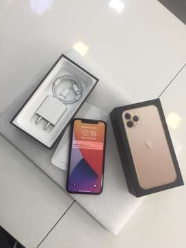 I PHONE 11 PRO 64GB GOLD COLOUR NEW CONDITION WITH WARRANTY