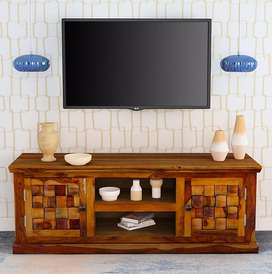 Tv Stand Led Cabinet.Brand New in Solid Sheesham wood.PepperF Piece.