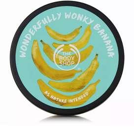 DISKON 25% THE BODY SHOP Banana Nourishing Body Butter 200 ml