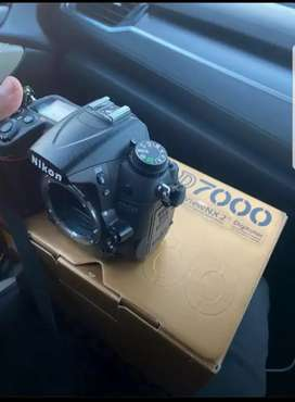 Nikon D7000 Body with New 85mm f1.8G Lens