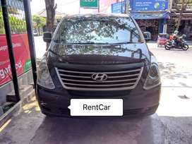 Sewa mobil + driver hyundai h1 kapasitas 10 plus driver...