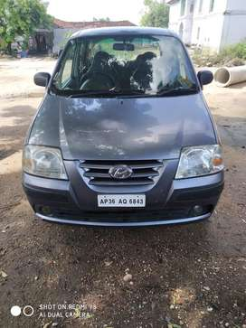 Santro xing excellent condition car with lpg kit