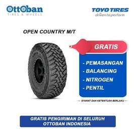 JUAL BAN TOYO OPEN COUNTRY M/T 265/75 R16 ON JEEP RUBICON, PAJERO