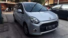 Daihatsu Ayla X Matic 2013 tgn 1 Dp 7 jt aja