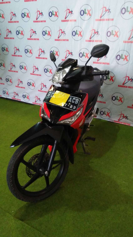 i.101 dijual honda supra x 125 tahun 2018 (raharja motor) 0