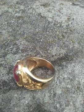 Di jual cincin akik merah siyem