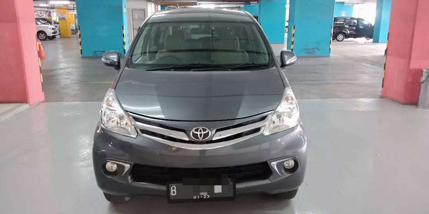 Km 38rb Avanza 1.5 G Manual 2013/2014 cash/kredit 0