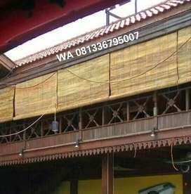 jual kerei bambu untuk kafe