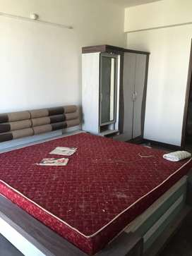 Front side 2bhk flat with Bed Almera and dressing at Apollo DB City
